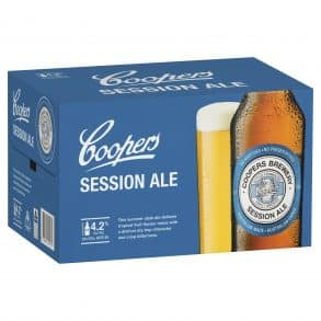 coopers session ale 24 x 375ml